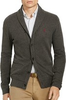 Polo Ralph Lauren Ribbed Cotton Shawl Collar Cardigan Sweater