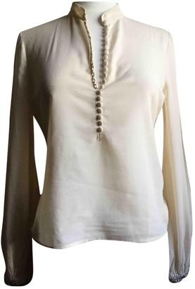 Blumarine Beige Cotton Top for Women