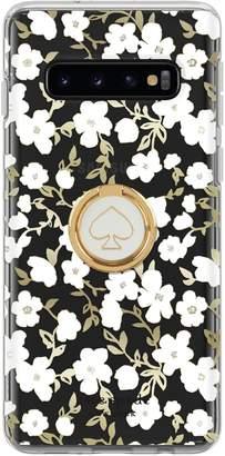 Kate Spade Galaxy S10 Botanical Phone Case Ring Gift Set