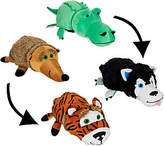Flip Pets Set of Two 2-in1 Plush Animal Buddies