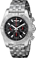 Breitling Men's AB014112-BB47 Analog Display Swiss Automatic Silver Watch