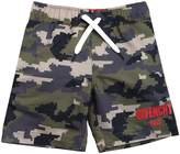 Givenchy Camouflage Printed Nylon Swim Shorts