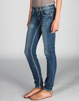 ALMOST FAMOUS Zip Pocket Womens Skinny Jeans