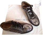 Jimmy Choo Brown Leather Flats