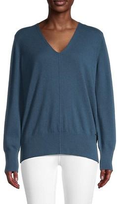 Akris V-Neck Cashmere Sweater