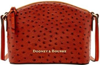 Dooney & Bourke Ostrich Ruby Crossbody