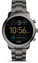 Fossil Gen 3 Smartwatch - Q Explorist Smoke Stainless Steel