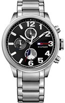 Tommy Hilfiger Men's Quartz Stainless Steel Casual Watch, Color:Silver-Toned (Model: 1791243)