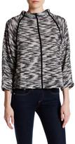 Joan Vass Mock Neck Sweater