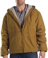 Dickies Men's Lined Hooded Jacket