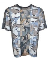 Dries Van Noten Camo Print T-shirt