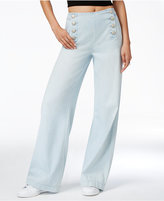 Rachel Roy Dusty Blue Wash Sailor Jeans