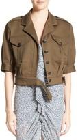 Veronica Beard Women's Fleet Military Jacket