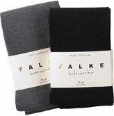 Two pack of merino blend tights