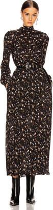 IRO Casual Dress in Black & Orange | FWRD