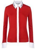Mary Katrantzou Bextor Embellished Collar Cardigan
