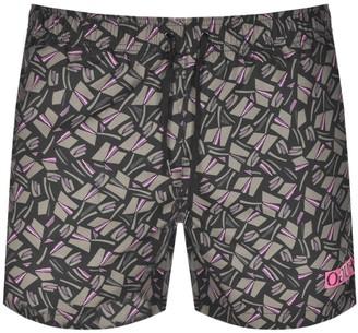 HUGO BOSS Fidschi Swim Shorts Green
