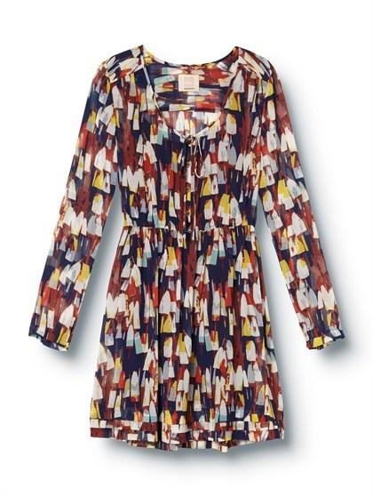 Quiksilver Winter Wharf Long Sleeve Dress