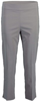 Avenue Montaigne Light Grey Skinny Cropped Pant