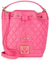 Love Moschino Women's Quilted Faux Leather Bucket Bag