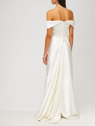 Vivienne Westwood Heavy Silk Satin Cocotte Dress