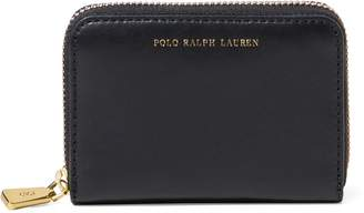 Ralph Lauren Leather Small Zip Wallet