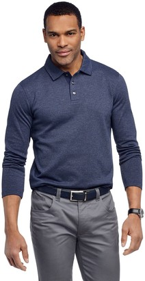 Van Heusen Men's Classic-Fit Jacquard Polo