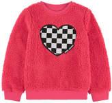 Little Marc Jacobs Faux fur sweatshirt