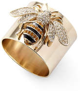 Joanna Buchanan Striped Bee Napkin Rings, Set of 2
