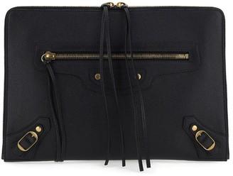 Balenciaga Zipped Clutch Bag