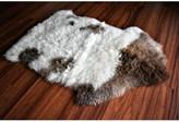 Cartagena Animal Print Handmade 2' x 3' Sheepskin Cream/Brown Indoor / Outdoor Area Rug Millwood Pines