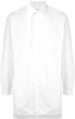 Yohji Yamamoto Asymmetric-Collar Shirt