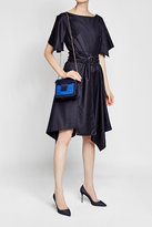 Tara Jarmon Asymmetric Virgin Wool Dress