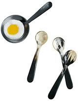 Georg Jensen Alfredo Horn Spoons, 4-Piece Set
