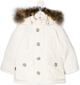 Woolrich Kids hooded padded jacket