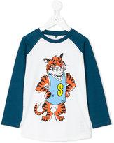 Stella McCartney Tiger print long-sleeve T-shirt