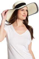 San Diego Hat Company Lace Trim Floppy Hat
