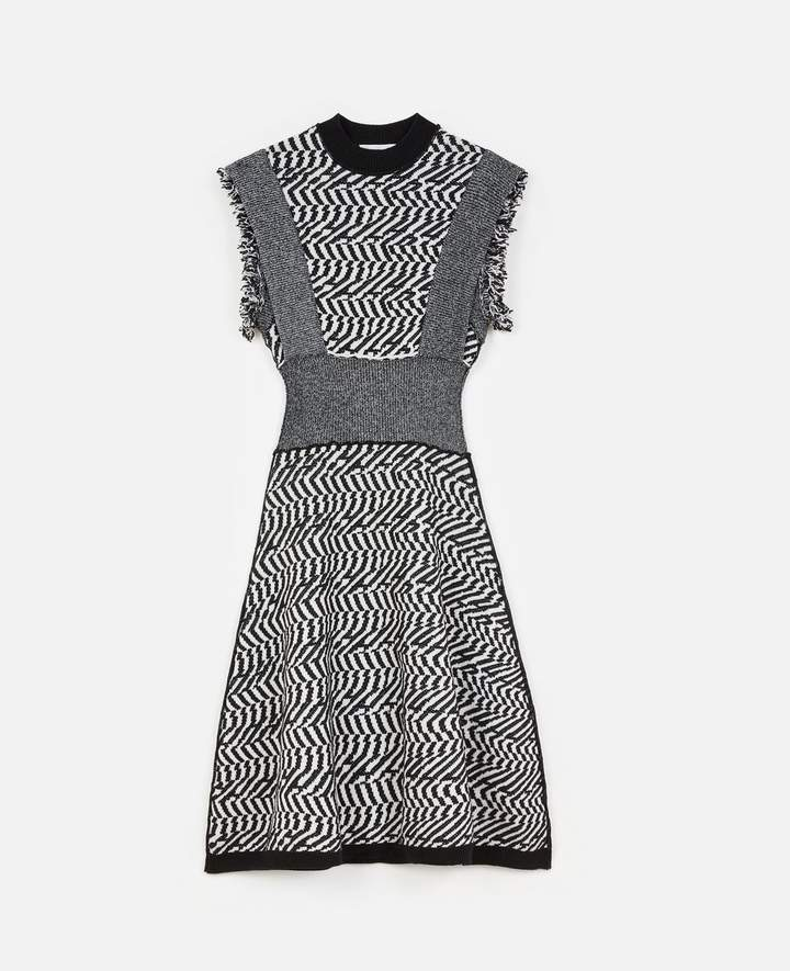 Stella McCartney Patterned Midi Dress, Women's