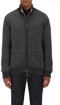 Luciano Barbera MEN'S CASHMERE REVERSIBLE SWEATER