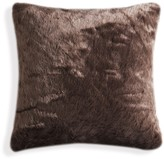 Kensie Kodiak Faux Fur Pillow - Brown - 20 x 20
