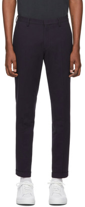 Paul Smith Navy Cotton Chino Trousers