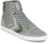 Hummel TEN STAR DUO CANVAS HIGH Grey