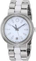 Movado Women's 0606624 Cerena Stainless Steel Diamond Set Watch