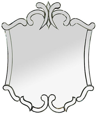 """Ave Home Carlyle 40""""x48"""" Wall Mirror"""