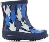 Joules Blue Xbwmulbear Baby Welly Multi Camo