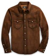 Ralph Lauren Suede Shirt Jacket