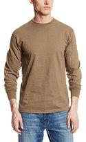 Soffe Men's Long-Sleeve Cotton T-Shirt