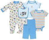 Baby Gear Print Sleep & Play Set - Baby Boy