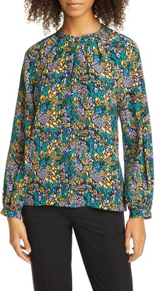 Tanya Taylor Amy Silk Blouse