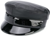 Ruslan Baginskiy baker boy leather hat